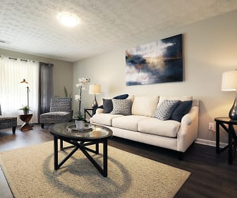 Living Room, Woods at Peppertree