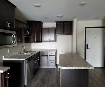 Kitchen, Rivertown Residential Suites