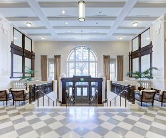 Foyer, Entryway, Residences at the John Marshall