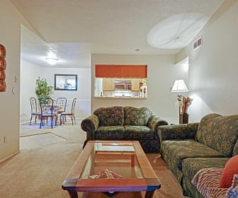 Living Room, Canyon Point Apartment Homes