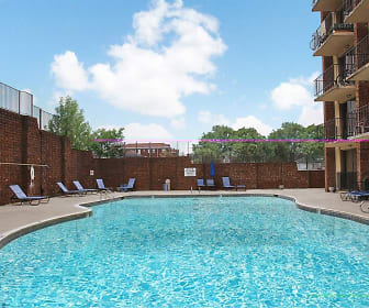 Pool, District At West Market Apartments