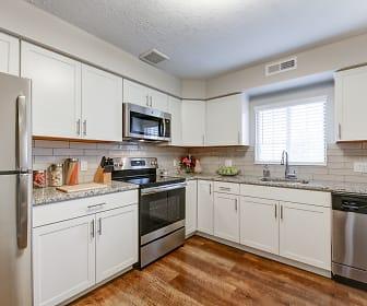 Kitchen, Shady Lake Apartments