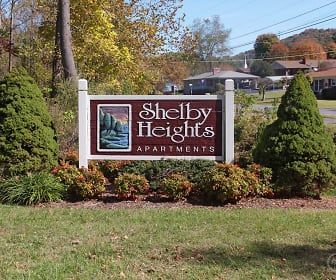 Community Signage, Shelby Heights