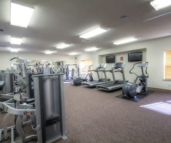 Fitness Weight Room, Oak Court Place