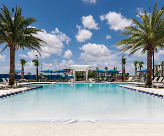 Pool, Lake Nona Ariel