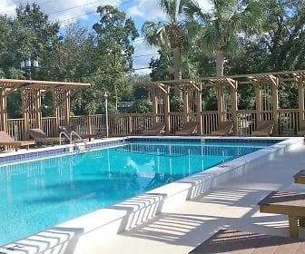 Pool, Summit at Campus Edge Apartments