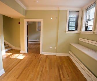 Dining/Living room, 5535 S Kimbark