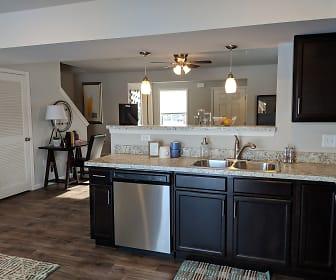 Kitchen, Keystone Arms