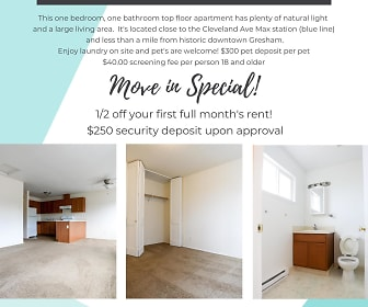 1203-1221 E Powell Blvd #2, Downtown Gresham, Gresham, OR
