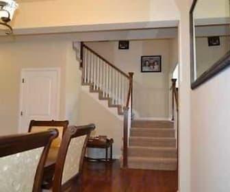 Extended hardwood floors, 30 S High Street