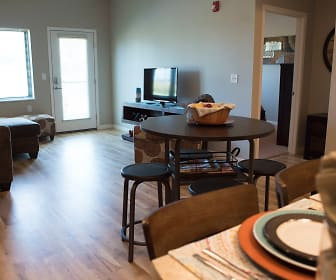 Dining Room, Deer Ridge Apartments