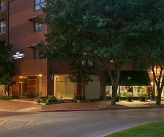 Post Addison Circle, W T White High School, Dallas, TX