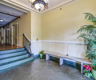 Foyer, Entryway, The Terrace Apartments