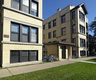 Building, 5411-21 S Ellis