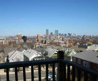 Parker Hill, Hyde Square, Boston, MA