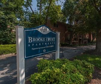 Community Signage, Brooke Court Apartments