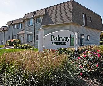 Community Signage, Fairway Apartments