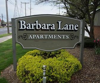 Community Signage, Barbara Lane Apartments