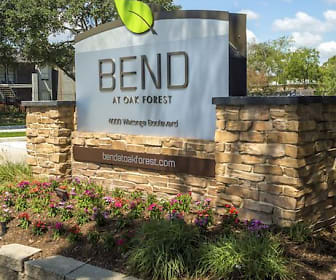 Bend at Oak Forest, North Houston, Houston, TX