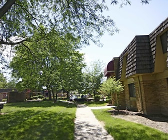 Building, Garden Woods Apartments