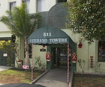 Leasing Office, Serrano Towers