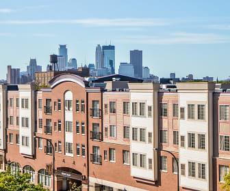 Building, New Boston Square Apartments