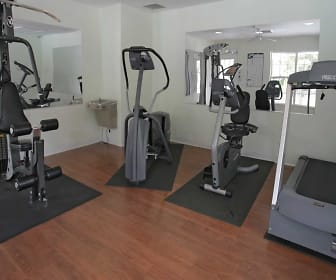 Interior-Fitness Weight Room, Jasmine Place