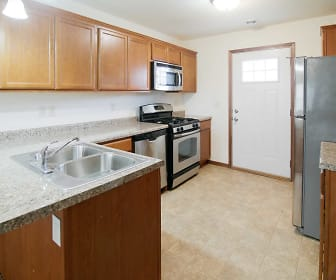Kitchen, Tioga Townhomes