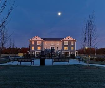 Square at Merritt Mill, Beaver Run School, Salisbury, MD