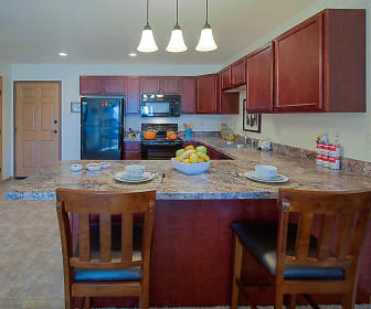 Kitchen, Country View Apartments