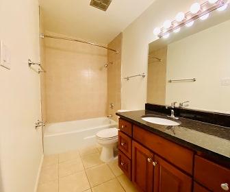 Bathroom, Georgian Court Apartments