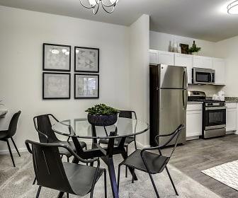 Dining Room, Highland Ridge Apartments