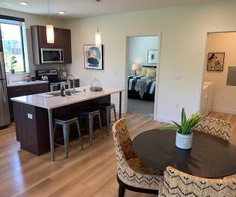 Living Room, Statesman Apartments