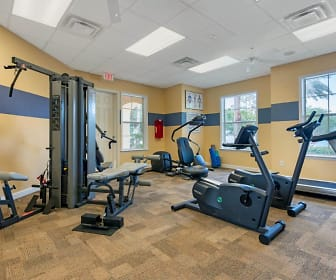 Fitness Weight Room, Lindsey Terrace