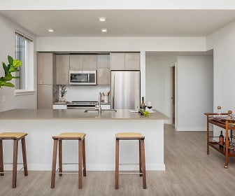 Kitchen, CityLine Apartments