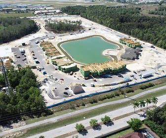 birds eye view of property, The Carlton of Fort Myers