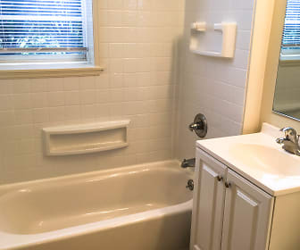 Bathroom, Jasontown Apartments