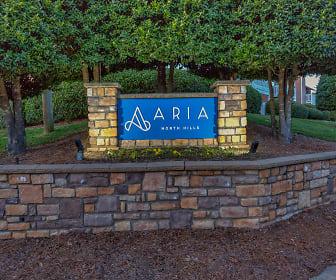 Community Signage, Aria North Hills