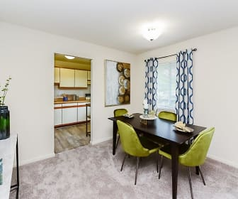 Dining Room, Marchwood Apartments