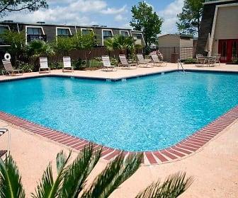 Pool, Le Chateau Apartments