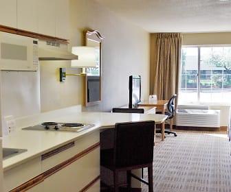 Kitchen, Furnished Studio - Boston - Marlborough