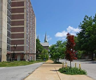 Building, Chapel View Apartments