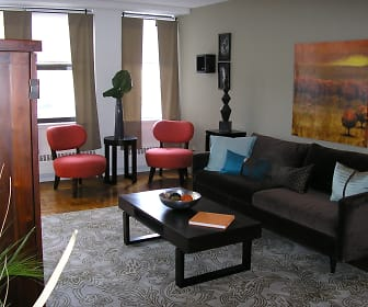 Living Room, Apartments At 1220