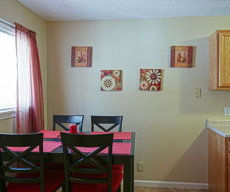 Dining Room, Oak Valley Apartments