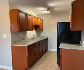 Kitchen, Eagle Trace Apartment Homes