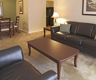 Living Room, Timberland Apartments