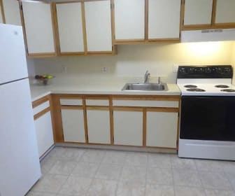 Kitchen, Newman Apartments