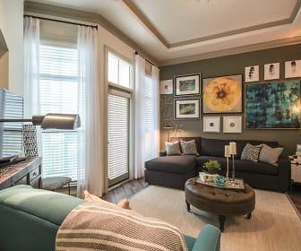 Living Room, Heights at Harper's Preserve