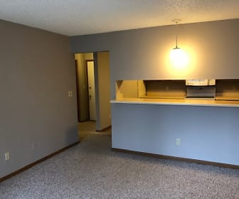 Living Room, 1006 Oakcrest Street Apt 201