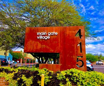 Main Gate Village, West University, Tucson, AZ